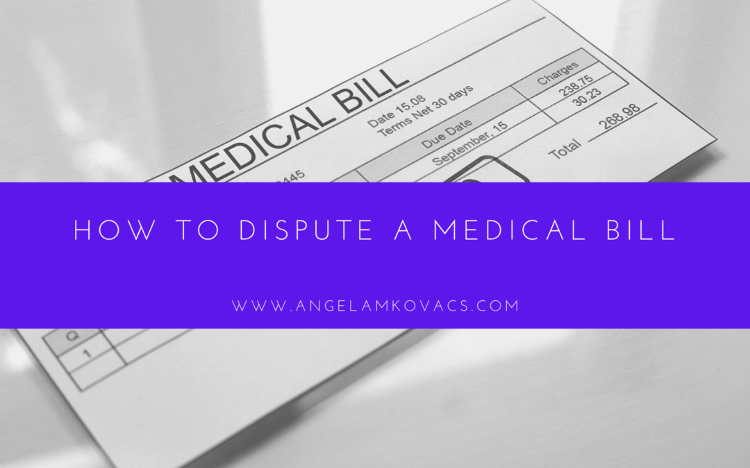 How to Dispute a Medical Bill