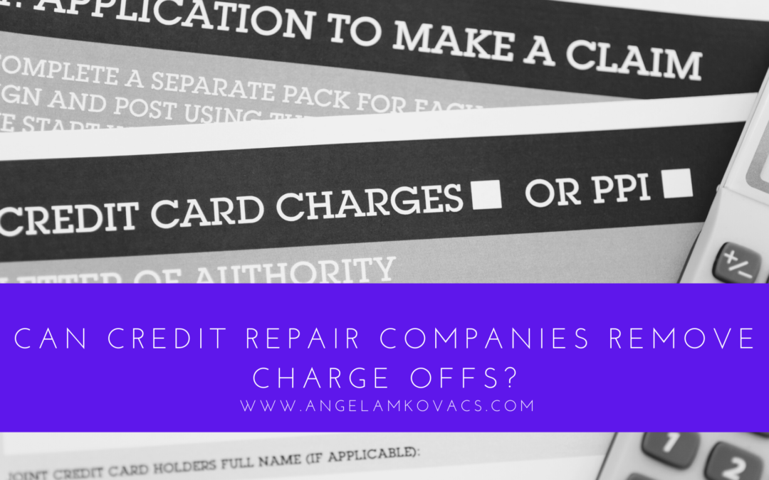Remove Charge Offs