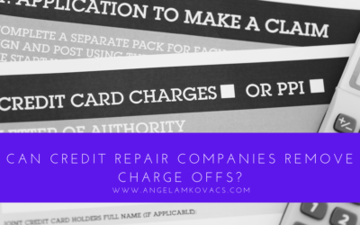 Can Credit Repair Companies Remove Charge Offs?